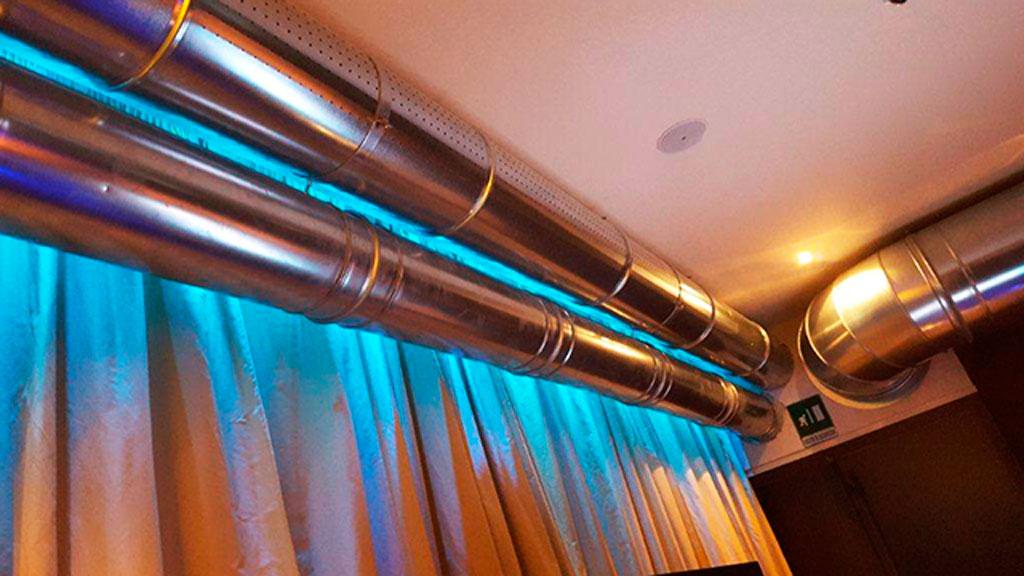 Canali microforati canne fumarie aeraulica aspirazione - Canalizzazione aria condizionata ...