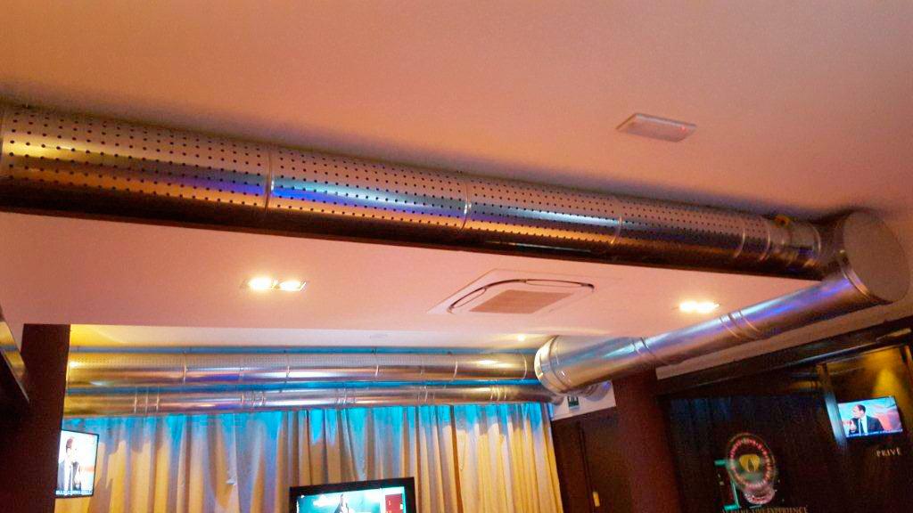 Canali microforati per climatizzazione e riscaldamento - Canalizzazione aria condizionata ...