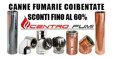 Produzione vendita canne fumarie acciaio inox rame ferro - Canne fumarie coibentate per stufe a pellet ...